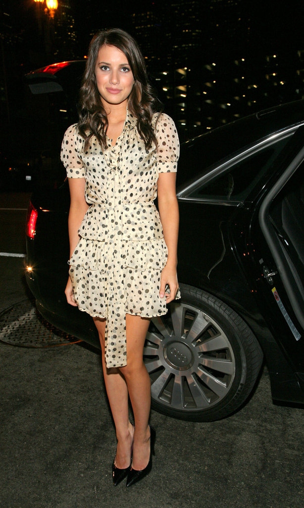 Emma outfitted a sweet look in polka dots at the Teen Vogue Young Hollywood party in 2007.