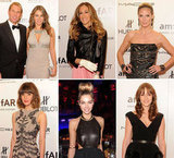 Shane and Liz Mingle With SJP, Heidi, Julianne and More at the amfAR New York Gala