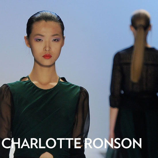 The Simple Trick to Getting the Sleek Ponytails at Charlotte Ronson