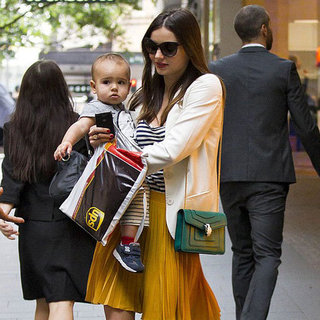 Miranda Kerr and Flynn Bloom Shopping in Sydney Pictures