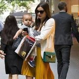 Miranda Kerr and Flynn Bloom shopped in Sydney.