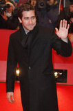 Jake Gyllenhaal waved to his international fans.