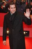 Jake Gyllenhaal waved to his international fans.