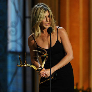 Jennifer Aniston in a Little Black Dress (Video)
