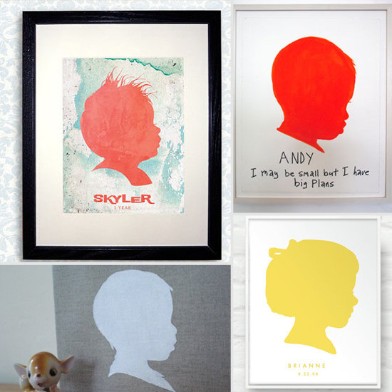The Cutest Kids' Silhouettes For Your Home