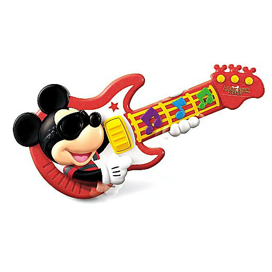 Mickey Mouse Rock Star Guitar