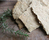 Whole Wheat Rosemary Flatbread