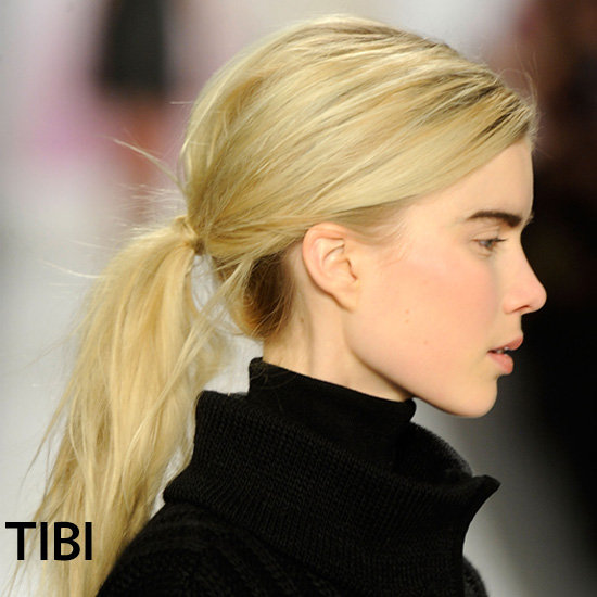 The Surprisingly Easy Way to Dress Up Your Ponytail