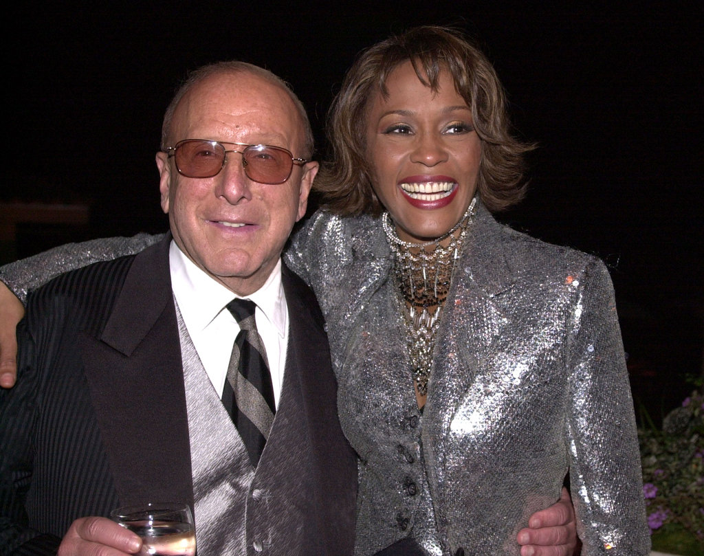 Clive and Whitney got together at the Arista 25th Anniversary Celebration afterparty in 2000.