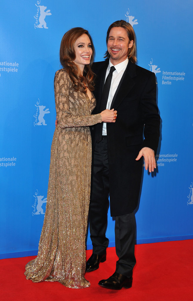 Brad Pitt and Angelina Jolie at the Berlin Film Festival.