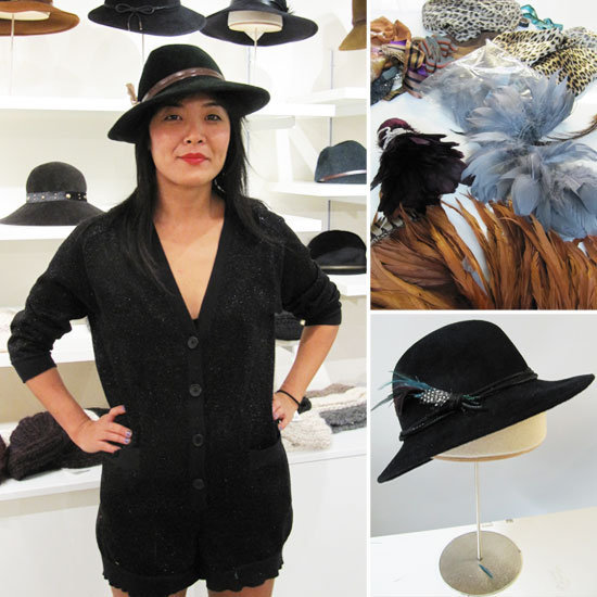 We got together with designer Eugenia Kim and learned how to make the perfect hat!
