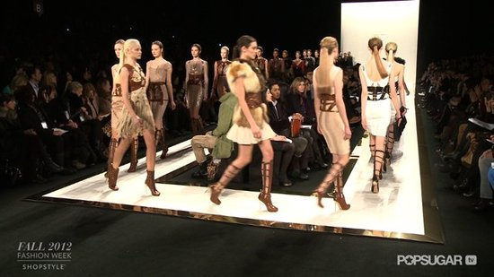 Check Out the Hervé Léger Fall 2012 Runway Show
