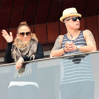 Jennifer Lopez Pictures at Carnival With Casper Smart