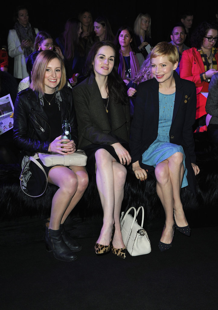 Celebrities at Mulberry.