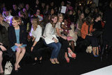Michelle Williams, Lana Del Rey, Michelle Dockery, Laura Carmichael, Elizabeth Olsen were among the stars at Mulberry.