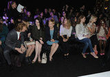 Michelle Williams, Lana Del Rey, Michelle Dockery, Laura Carmichael, and Elizabeth Olsen went to fashion week.
