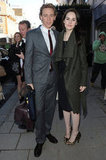 Tom Hiddleston posed with Michelle Dockery.