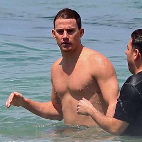 Shirtless Channing Tatum Pictures