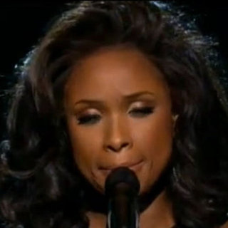 Jennifer Hudson Whitney Houston Tribute at Grammys (Video)