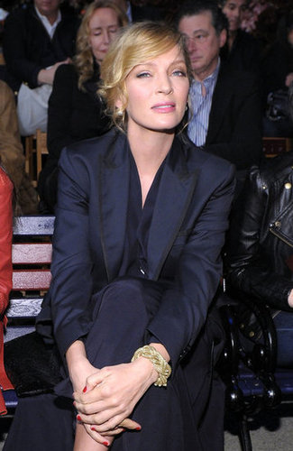Uma Thurman went to Tommy Hilfiger.