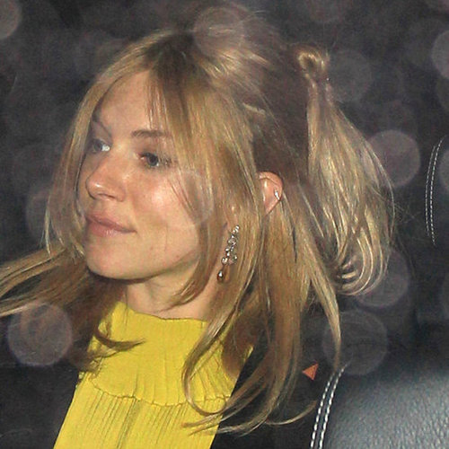 Sienna Miller Engagement Ring Pictures