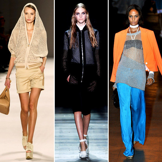 Runway Inspiration: Open-Weave