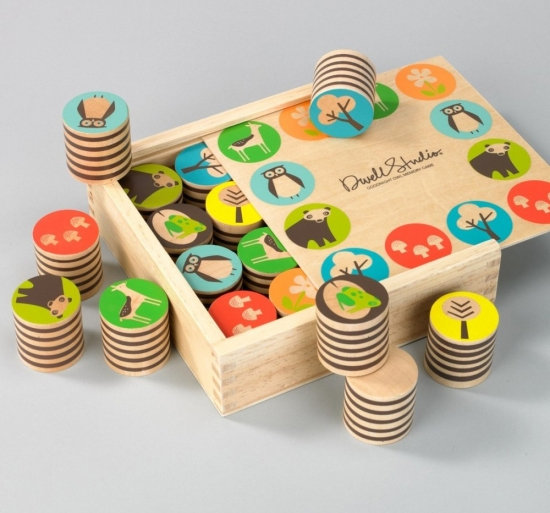 Pin It DwellStudio Baby Woodland Memory Game ($36)