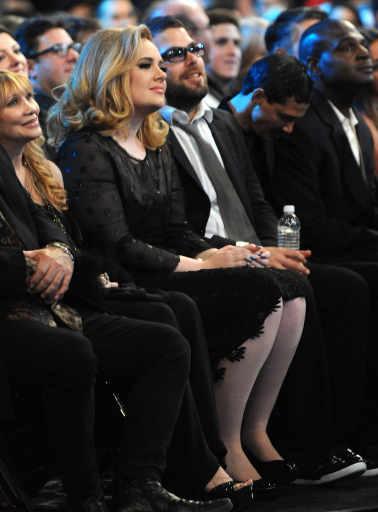 Adele makes her first public appearance with new boyfriend Simon Konecki.