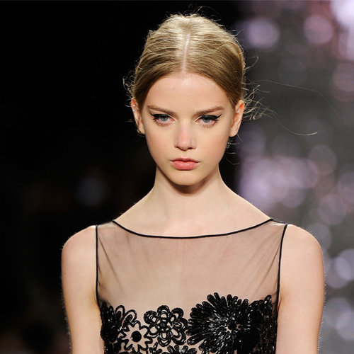 Naeem Khan Fall 2012 Beauty Look