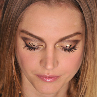 Betsey Johnson Fall 2012 Eye Makeup