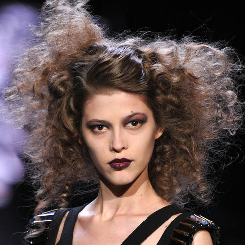 Badgley Mischka Fall 2012 Beauty Look