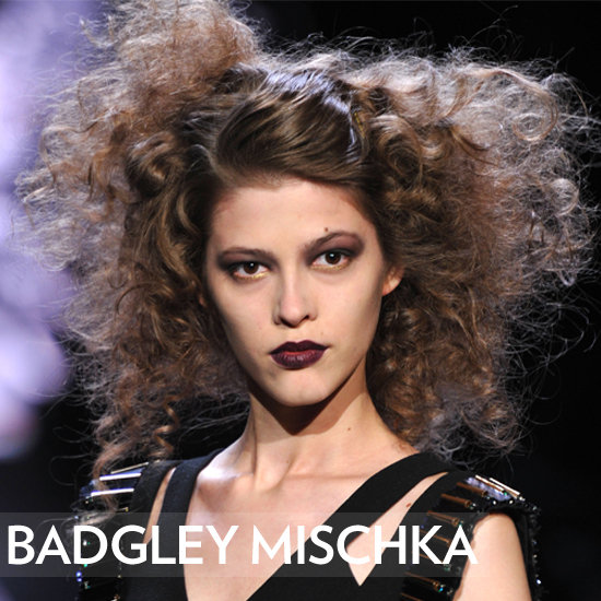 Badgley Mischka's Golden Girls Light Up the Runway