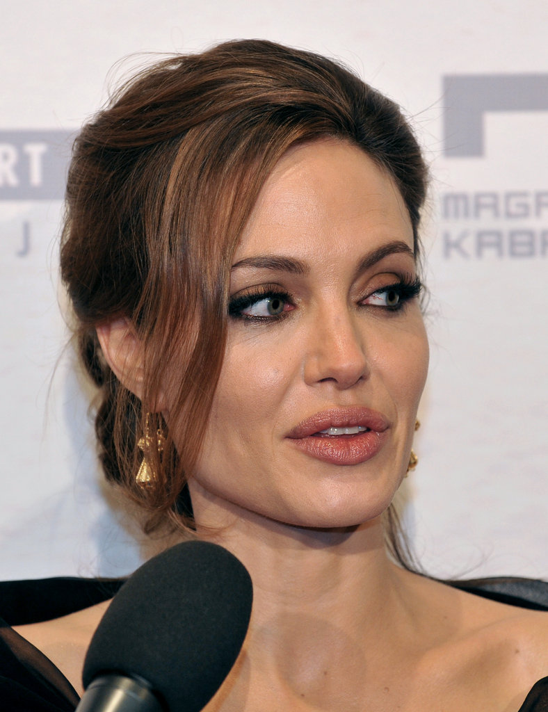 Angelina Jolie Debuts In the Land of Blood and Honey With Brad Pitt on Valentine's Day