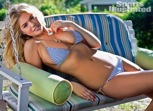 Kate Upton covers the 2012 Sports Illustrated Swimsuit Issue.
