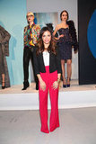 Jenna Dewan went to NYFW.