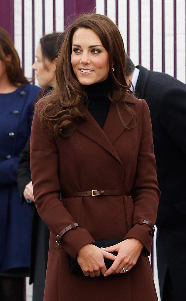 Kate Middleton visited Liverpool.