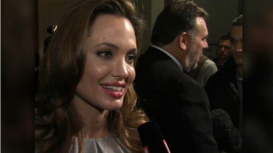"Video: Angelina Jolie Says She Feels ""Very Lucky"" to Have a Supportive Family"