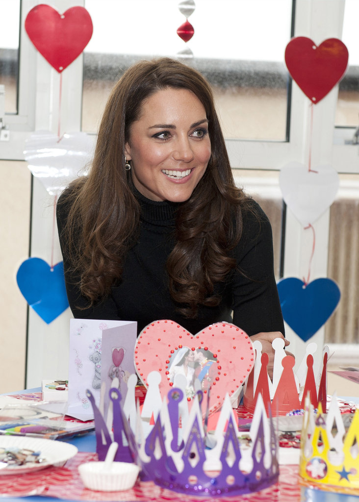 Kate Middleton made Valentine's Day cards.