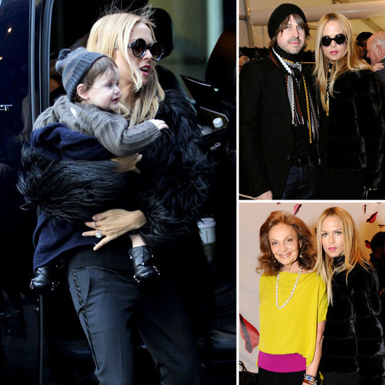 Rachel Zoe Totes Skyler in Style as She Makes the NYFW Rounds