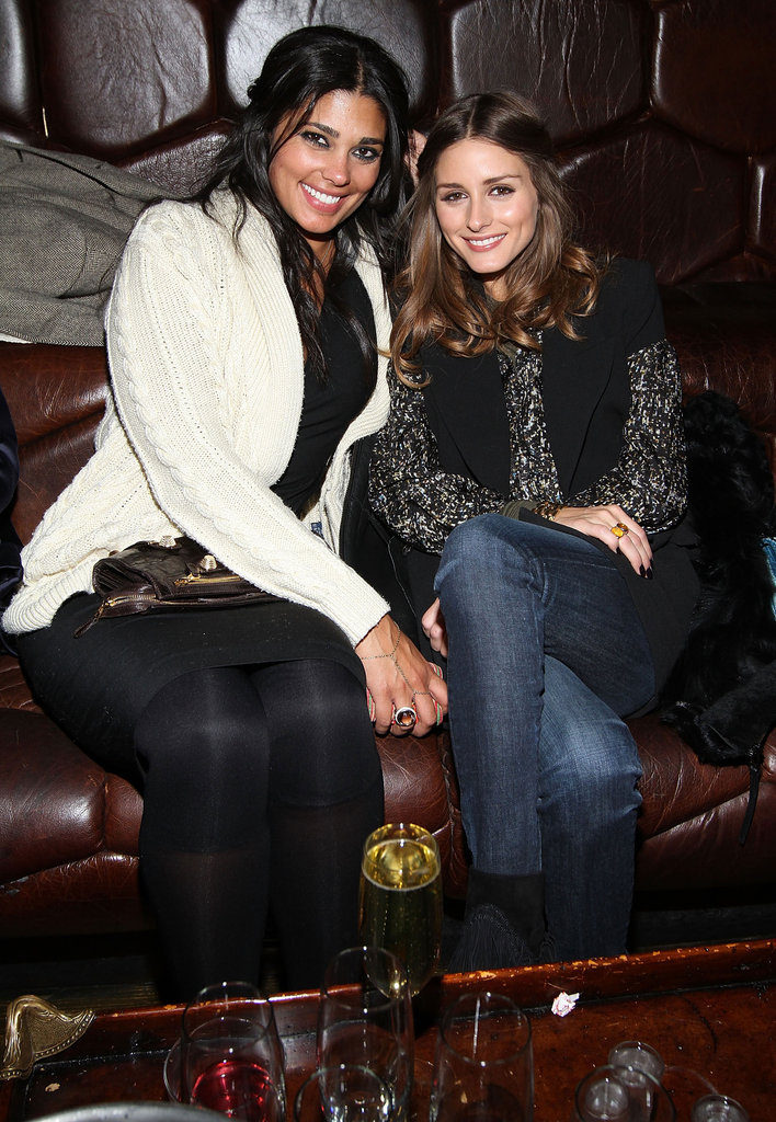Rachel Roy and Olivia Palermo made a pretty chic twosome at the designer's afterparty.