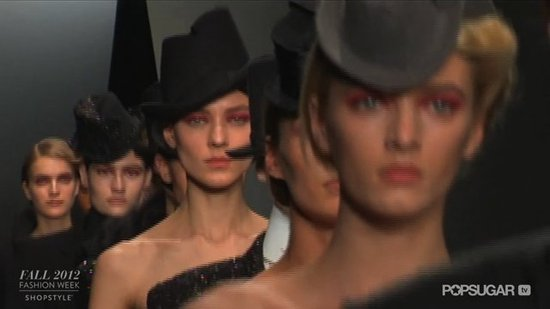 See Donna Karan's Femme Play on Menswear For Fall 2012