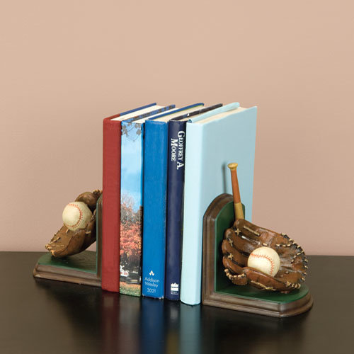 Baseball Bookends ($32)