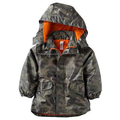 Carter&#039;s Camouflage Raincoat ($48, Now $30)