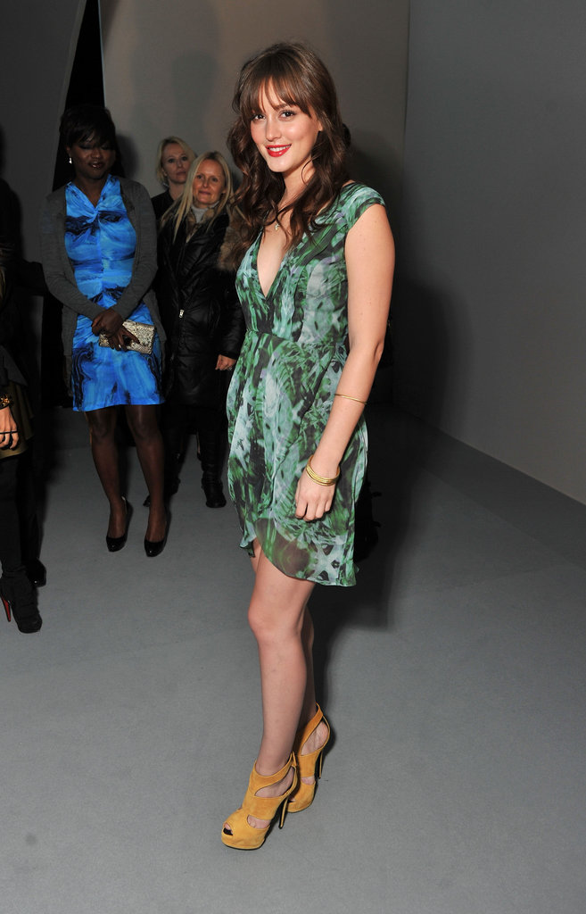 Leighton Meester at Vera Wang