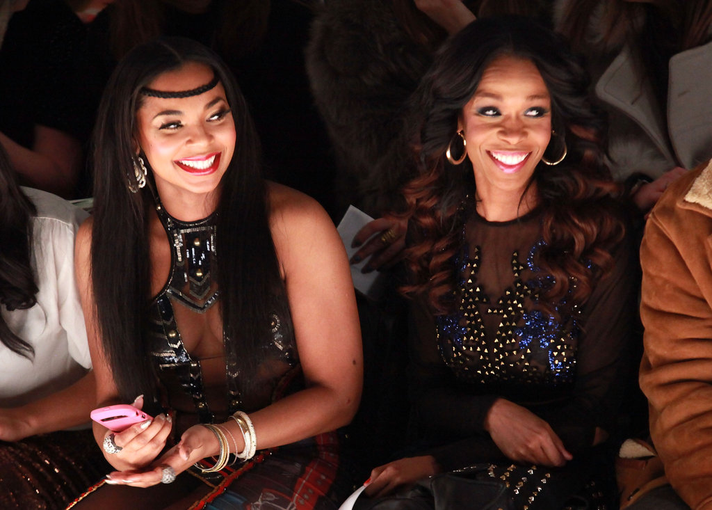 Ashanti and Michelle Williams at Falguni & Shane Peacock