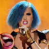 Katy Perry Wears Glitzy Lips Lip Foils at the Grammys