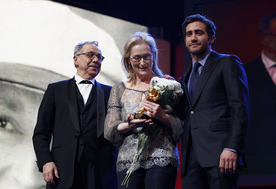 Jake Gyllenhaal Spends Valentine's Day With Iron Lady Meryl Streep