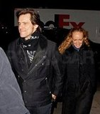 Jim Carrey took girlfriend Anastasia Vitkina out to dinner in NYC.