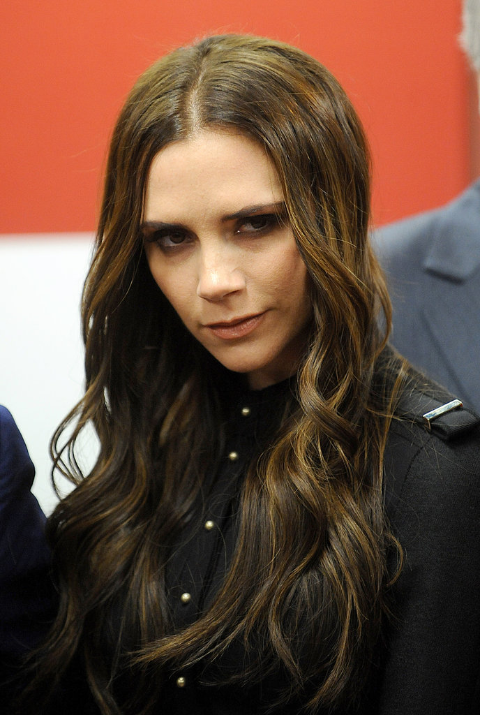 Victoria Beckham in a look from her collection.