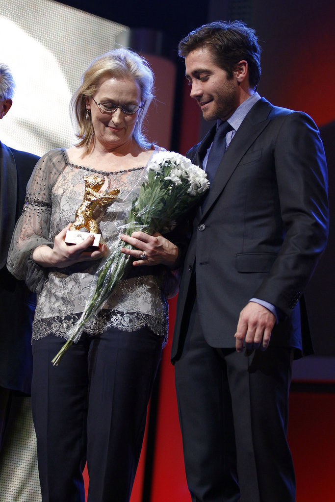 Jake and Meryl spent Valentine's Day together in Berlin.